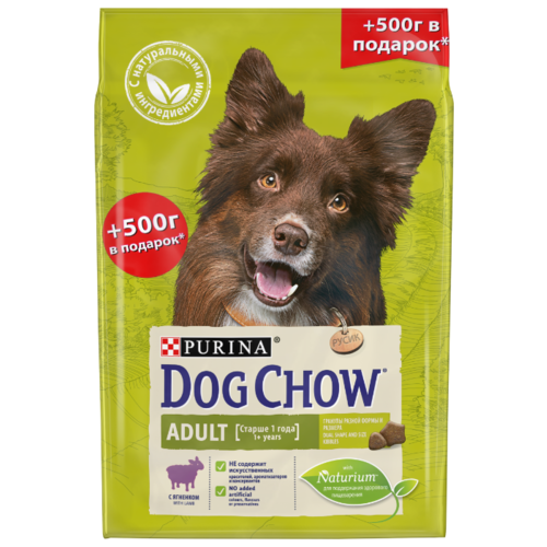 Корм для собак DOG CHOW для dog chow dry food for puppies up to 1 year old with chicken 14 kg