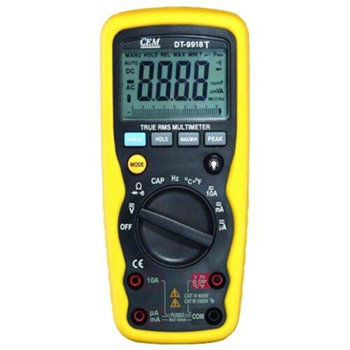 Мультиметр CEM DT-9918T мультиметр карманный cem dt 101