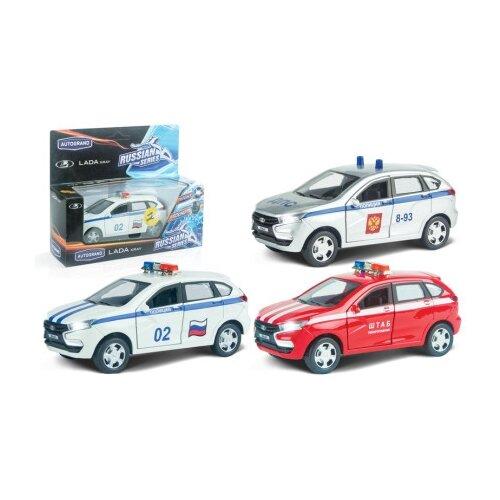 Машинка Autotime Autogrand Lada autotime машинка коллекция top 100 real 2