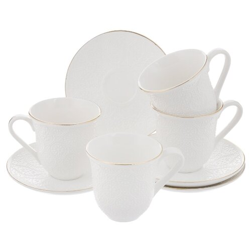 Чайный сервиз Loraine 25777 4 бульонница loraine бабочка 580 мл
