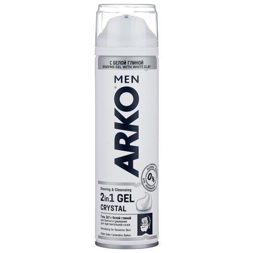 Гель для бритья Crystal Arko крем для бритья fresh arko
