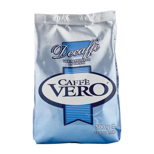 Кофе в зернах Vero Decaffe без