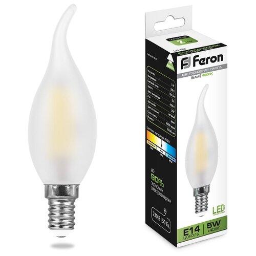 Лампа светодиодная Feron LB-59 лампа светодиодная feron lb 59 25575 e14 c35t 5вт