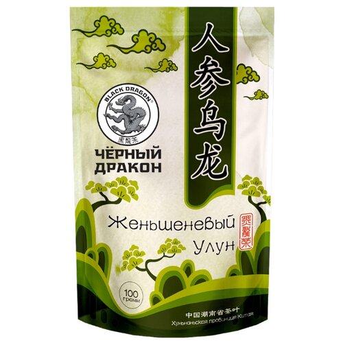 Чай улун Black dragon Женьшеневый фото