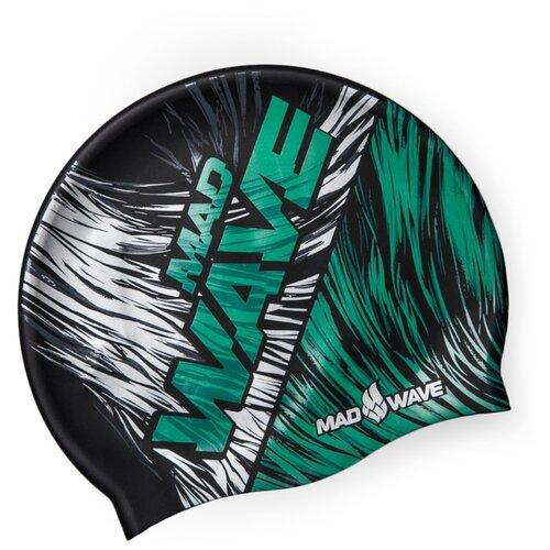 Шапочка для плавания MAD WAVE раздельные купальники mad wave купальник undine