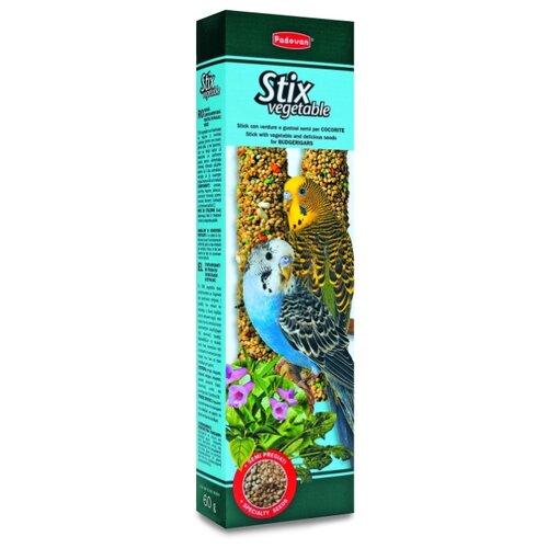 Лакомство для птиц Padovan Stix padovan лакомство палочки padovan stix fruit для средних попугаев фруктовые 100 г