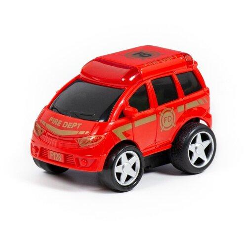 Фото - Пожарный автомобиль Полесье полесье набор игрушек для песочницы 468 цвет в ассортименте