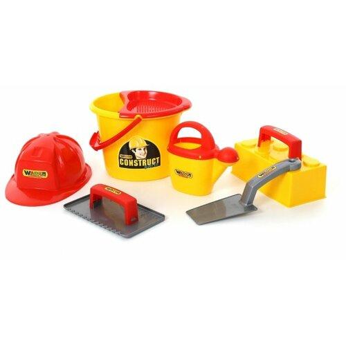 Фото - Полесье Набор каменщика №6 полесье набор игрушек для песочницы 468 цвет в ассортименте