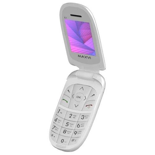 Телефон MAXVI E1 сотовый телефон maxvi b6 red