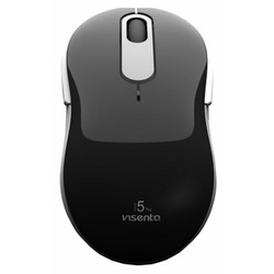 Мышь Visenta I5 wireless mouse Black-Grey USB