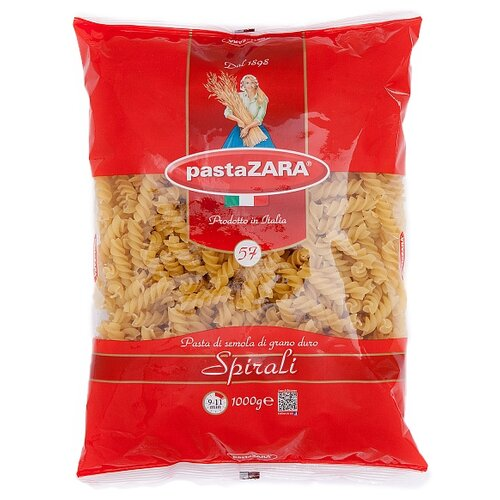 Pasta Zara Макароны 057 Spirali рожок витой cavatappi pasta zara 61 500г