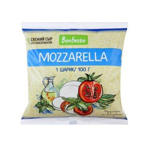 Сыр Bonfesto моцарелла мягкий 45% дар гор сыр мягкий адыгейский 45% 300 г