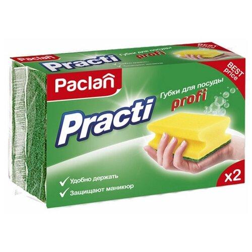 Губка для посуды Paclan Practi