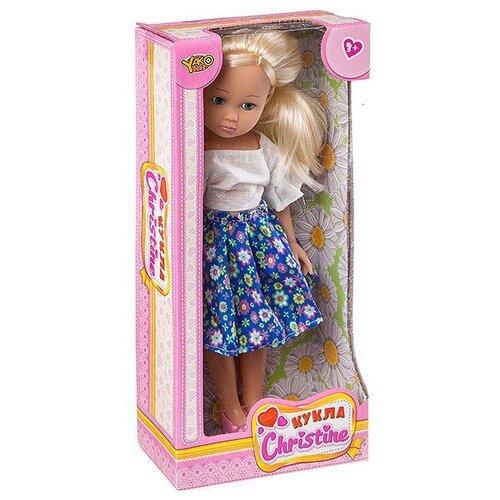 Кукла Yako Cristine 35 см M7578-2 кукла yako m6579 2