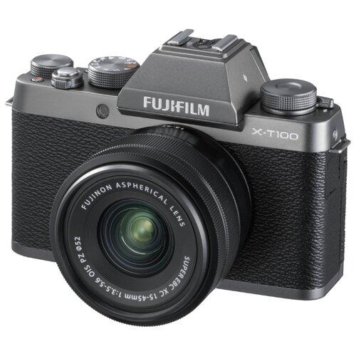 Фото - Фотоаппарат Fujifilm X-T100 Kit фотоаппарат fujifilm x t2 kit