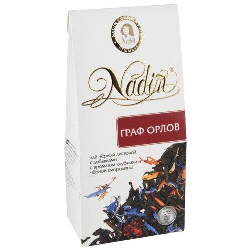 Чай черный Nadin Граф Орлов чай композиционный листовой nadin рождественский день 75 г