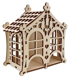 Astra & Craft Деревянная заготовка для декорирования Домик №3 L-1093