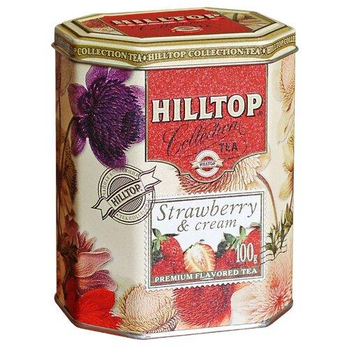 Чай черный Hilltop Strawberry & hilltop волшебный снегопад чай листовой молочный оолонг 100 г