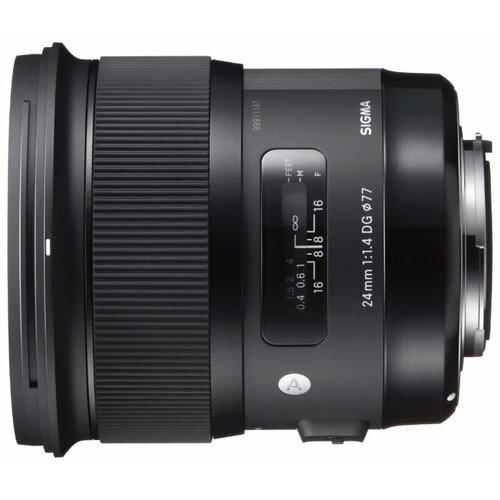 Фото - Объектив Sigma AF 24mm f 1.4 DG объектив