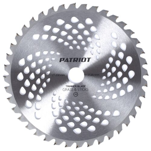 PATRIOT TBS-40 25.4 мм нож patriot tbs 3 promo