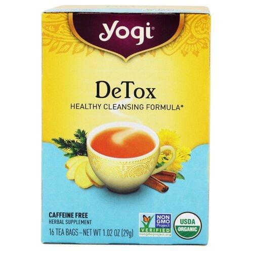 Чай травяной Yogi Tea DeTox в чай листовой floris detox