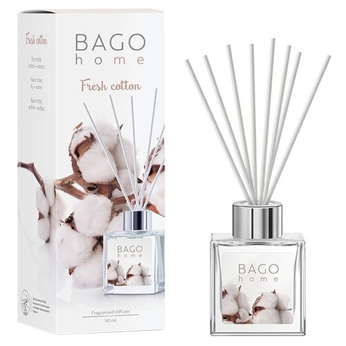 BAGO home диффузор Свежий диффузор ароматический bago home свежий хлопок 100 мл