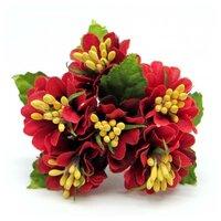 Декоративный букетик (красный), арт. DKB150H
