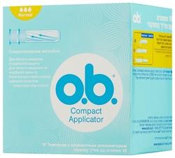O.b. тампоны Compact Applicator Normal