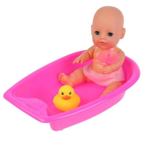 Фото - Пупс Карапуз в ванночке 20 см карапуз пупс 20 см 3 функции с аксессуарами карапуз