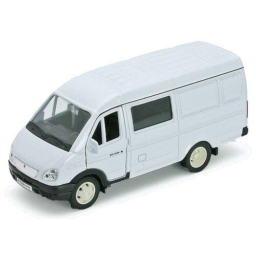 Фургон Welly ГАЗель с окном welly 42387b велли модель машины 1 34 39 газель фургон с окном