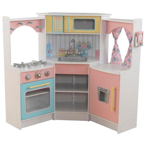 Кухня KidKraft 53368 kidkraft большая детская игровая кухня делюкс