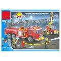 Enlighten Brick Пожарные 908 Пожарная машина с лестницей