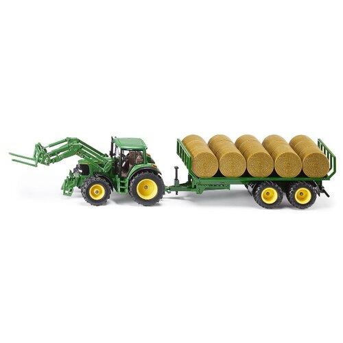 Трактор Siku с прицепом 3862