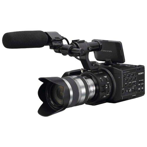 Фото - Видеокамера Sony NEX-FS100 видеокамера sony hdr cx405b black 30x zoom 9 2mp cmos 2 7 os avchd mp4 [hdrcx405b cel]