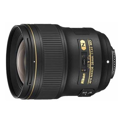 Фото - Объектив Nikon 28mm f 1.4E ED объектив