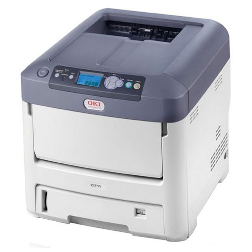 Фото - Принтер OKI Pro7411WT принтер oki c332dn цветной a4 22 20ppm 1200x600dpi 256мб ethernet usb