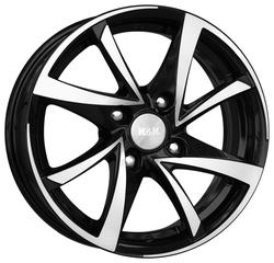 Колесный диск K&K Игуана 6.5x15/4x100 D54.1 ET48 Алмаз черный