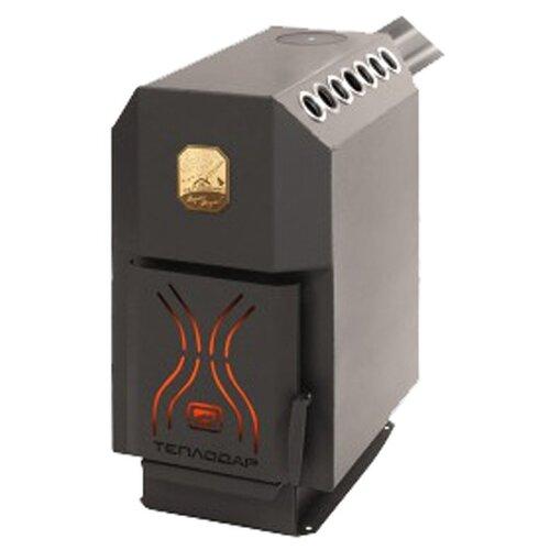 Дровяная печь Теплодар ТОП 200 отопительная печь теплодар топ 200 со стальной дверцей