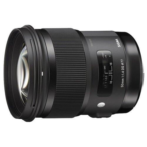 Фото - Объектив Sigma AF 50mm f 1.4 DG объектив sigma af 70mm f 2 8 dg macro a canon