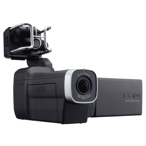 Фото - Видеокамера Zoom Q8 видеокамера sony hdr cx405b black 30x zoom 9 2mp cmos 2 7 os avchd mp4 [hdrcx405b cel]