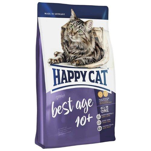 Корм для пожилых кошек Happy