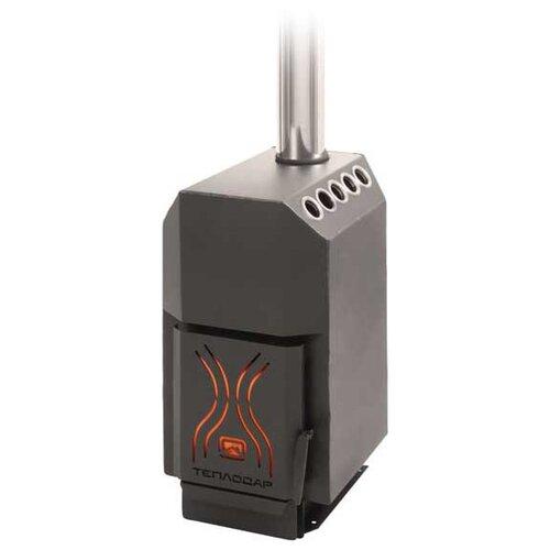 Дровяная печь Теплодар ТОП 140 отопительная печь теплодар топ 200 со стальной дверцей