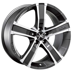 Колесный диск OZ Racing Sahara 8x18/5x127 D71.6 ET40 Matt Graphite D.C.