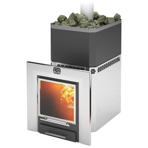 Дровяная банная печь Теплодар отопительная печь теплодар топ 200 со стальной дверцей