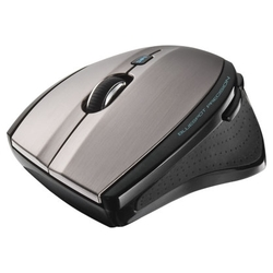 Мышь Trust MaxTrack Wireless Mini Mouse Grey-Black USB