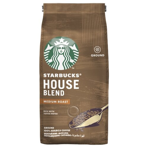 Кофе молотый Starbucks House кружка starbucks 00 01