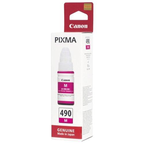 Фото - Чернила Canon GI-490M 0665c001 чернила revcol универсал для hp canon 100ml yellow dye