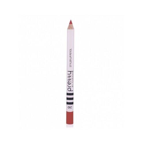 Pretty by Flormar Карандаш для помада flormar pretty pretty essential lipstick 027 цвет 027 dark cherry variant hex name 551724