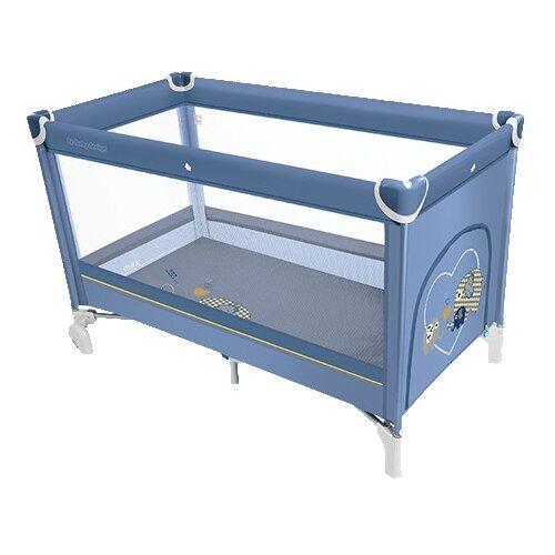 Манеж-кровать Baby Design Simple манеж кровать baby care ob 888 серый бежевый