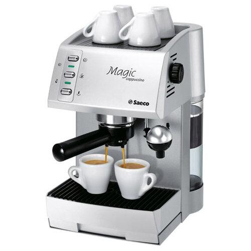 Кофеварка saeco magic cappuccino combi argento (721514308)